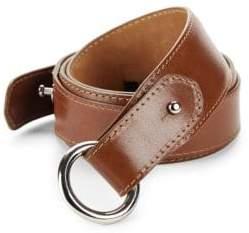 Paul Stuart O-ring Leather Belt