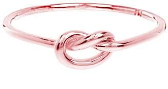 Sterling Forever Women's 14K Rose Gold Vermeil Thin Love Knot Ring