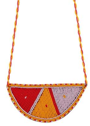 Soko Maasai Half Moon Pendant Necklace