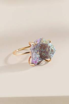 francesca's Regina Druzy Ring - Purple