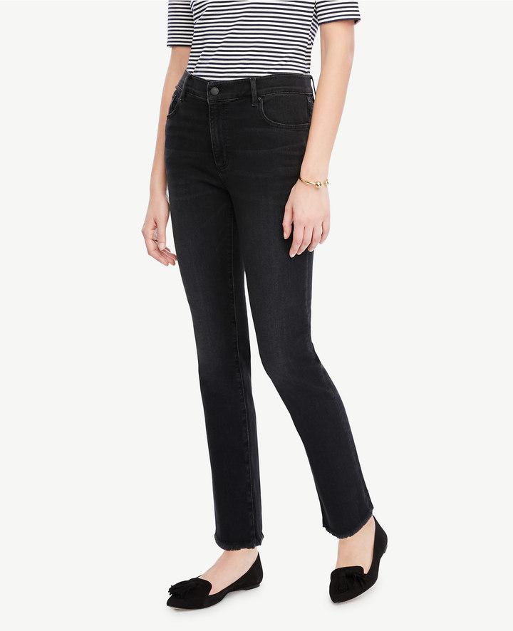 Ann TaylorPetite Frayed Crop Jeans