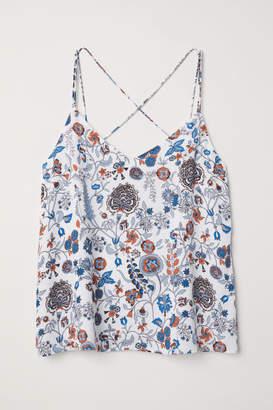 H&M Chiffon Camisole Top - White