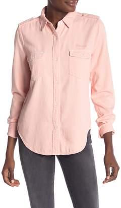 Frame Long Sleeve Denim Shirt