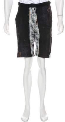 Hood by Air Woven Drawstring Shorts