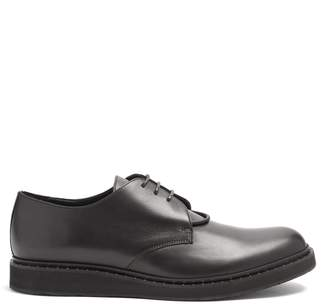 Neil Barrett Stud-embellished leather derby shoes