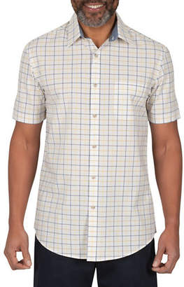 Haggar HERITAGE Check Cotton Sport Shirt