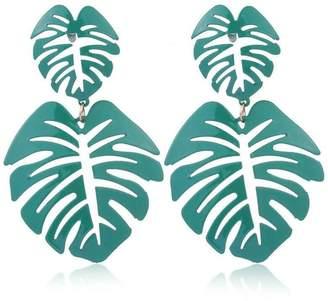 mimis Mimi's Gift Gallery Palm Leaf Earrings