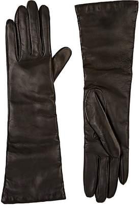 Barneys New York Women's Leather Long Gloves
