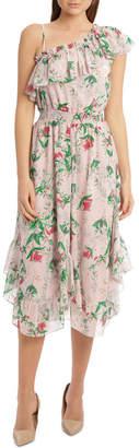 DAY Birger et Mikkelsen Botanic One Shoulder Ruffle Dress