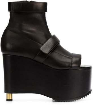 Vera Wang chunky platform boots $1,750 thestylecure.com
