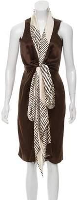 Sophie Theallet Silk Sleeveless Dress