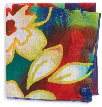 Wilson Armstrong & Hawaii Cotton Pocket Square