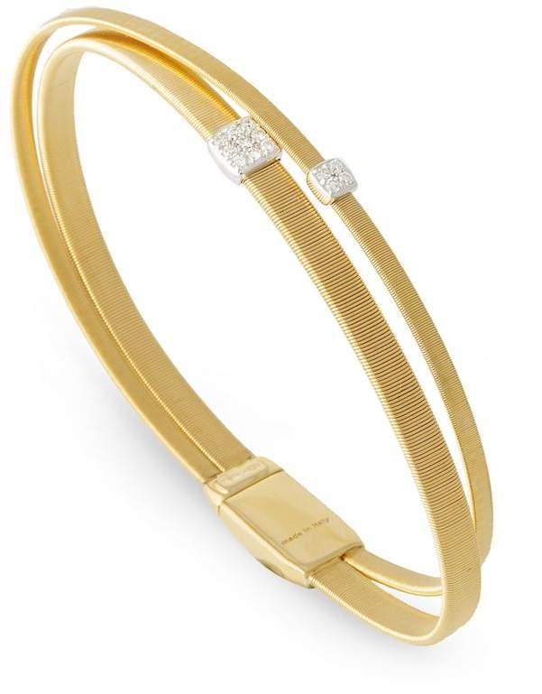 Marco Bicego Masai Double Strand Diamond Bracelet