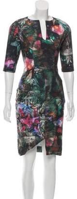 Ted Baker Printed Sheath Dress