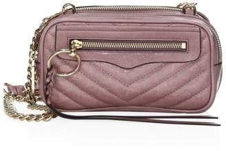 Rebecca Minkoff Quilted Mini Leather Crossbody Bag