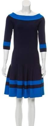Jonathan Simkhai Bateau Neckline Mini Dress w/ Tags