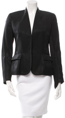 Paul Smith Wool Open Front Blazer $100 thestylecure.com