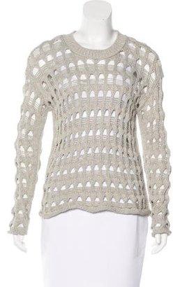 Inhabit Open Knit Sweater $65 thestylecure.com