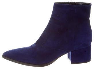 Miu MiuMiu Miu Pointed-Toe Ankle Boots