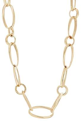 Kenneth Jay Lane Womens Wavy-Link Necklace YyXFqLg7c3