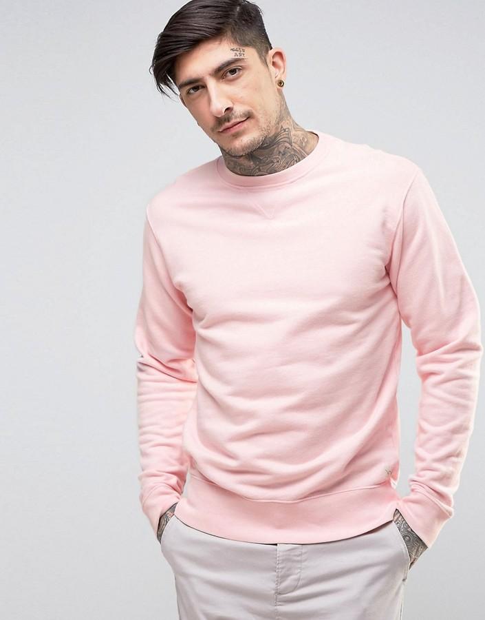 EdwinEdwin Classic Crew Sweater Pink