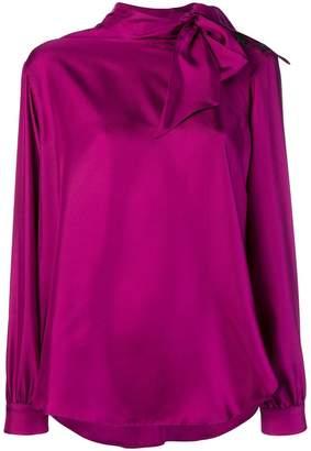 Alysi high neck blouse