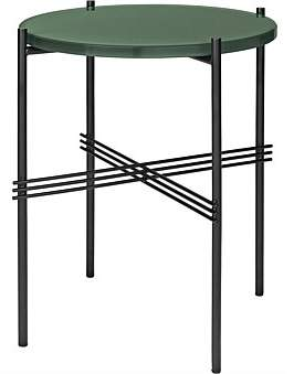 Gubi Ts Side Table Round 40Cm Dusty Green