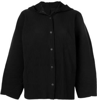 Issey Miyake APOC hooded jacket