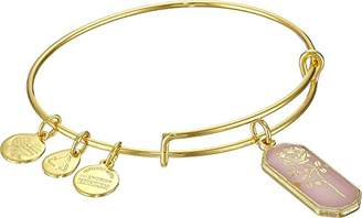 Alex and Ani Deep Romance Rose Gold-Tone Expandable Wire Bangle Bracelet