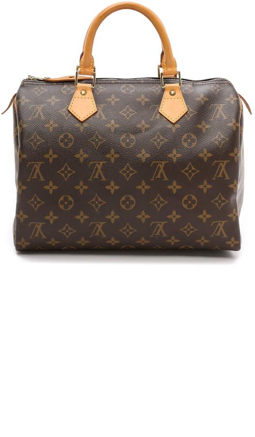What Goes Around Comes Around Louis Vuitton Monogram Speedy 30 Bag 3