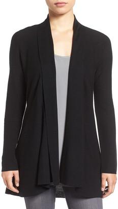 Eileen Fisher Merino Wool Shaped Cardigan $288 thestylecure.com