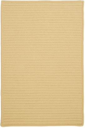 Colonial Mills H833R072X072S Simply Home Solid All-Season Reversible Rug