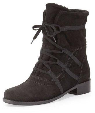 Sesto Meucci Corinne Waterproof Mid-Calf Boot, Black $215 thestylecure.com