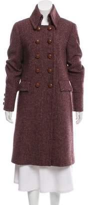Burberry Wool Knee-Length Coat
