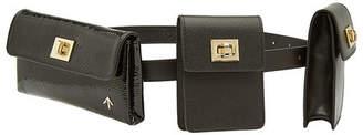 Atelier Manu Tech Leather Belt Bag