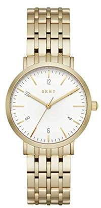 DKNY Women's Analogue Quartz Watch with Stainless Steel Strap NY2503