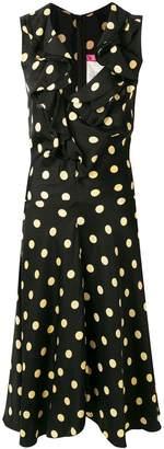 Comme des Garcons Junya Watanabe Pre-Owned 2005 ruffled polka-dot dress