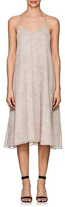 Derek Lam 10 Crosby WOMEN'S MOSAIC-PRINT SILK CHIFFON CAMI DRESS