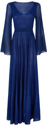 Missoni Lurex Pleated Maxi Dress