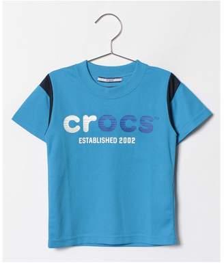 Crocs (クロックス) - crocs(KIDS WEAR) CROCS半袖ロゴTシャツ