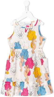 Mini Rodini Seahorse flounce dress