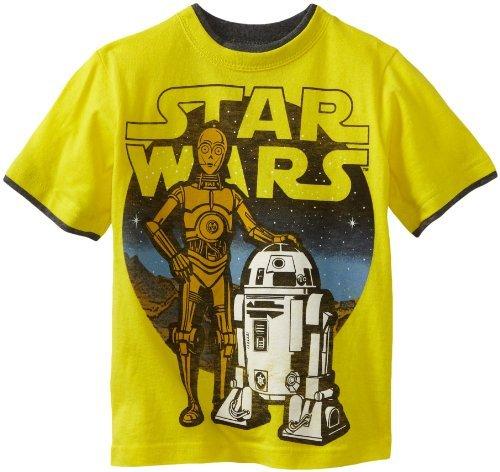 Star Wars Boys 2-7 Classic Short Sleeve Tee