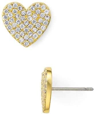 Kate Spade Pavé Heart Stud Earrings
