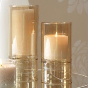 Blissliving Home Soren Double Glass Hurricanes