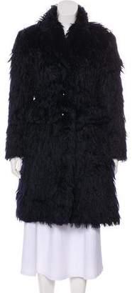 Marc Jacobs Knee-Length Mohair Coat