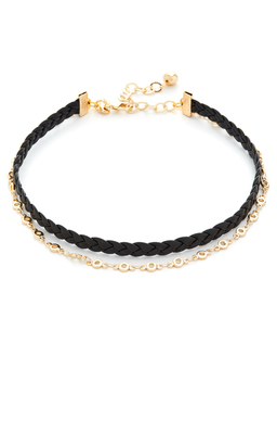 Vanessa Mooney The Gita Choker Necklace $55 thestylecure.com
