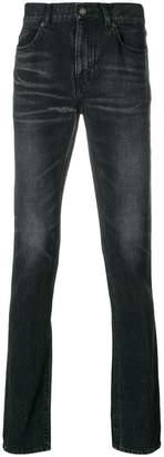 Saint Laurent slim faded jeans