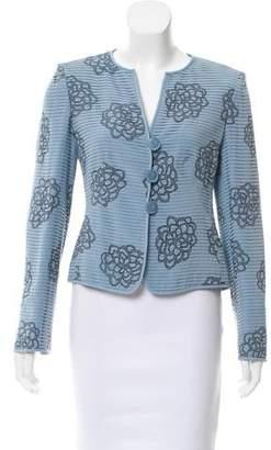 Armani Collezioni Printed Silk Jacket