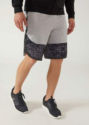 Emporio Armani Ea7 Stretch Fabric Bermuda Shorts