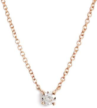 Bony Levy Petite Liora Diamond Solitaire Pendant Necklace